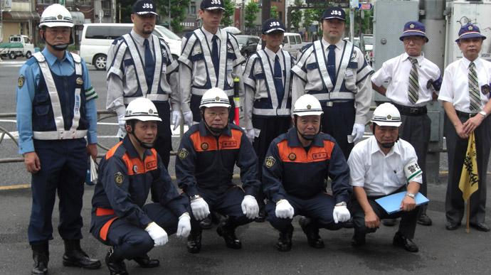 下谷警察署震災訓練