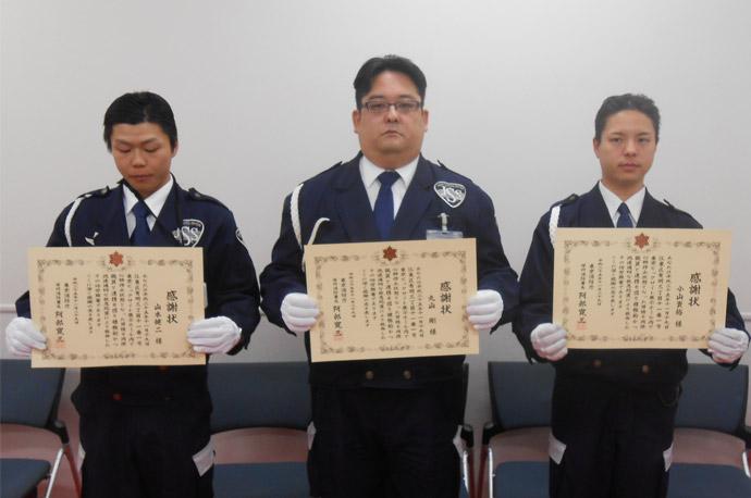 東京モーターショー会場内での人命救助