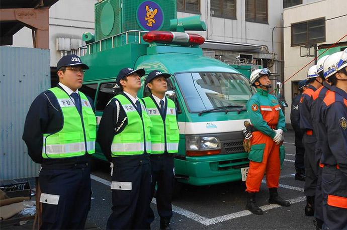 災害救助訓練